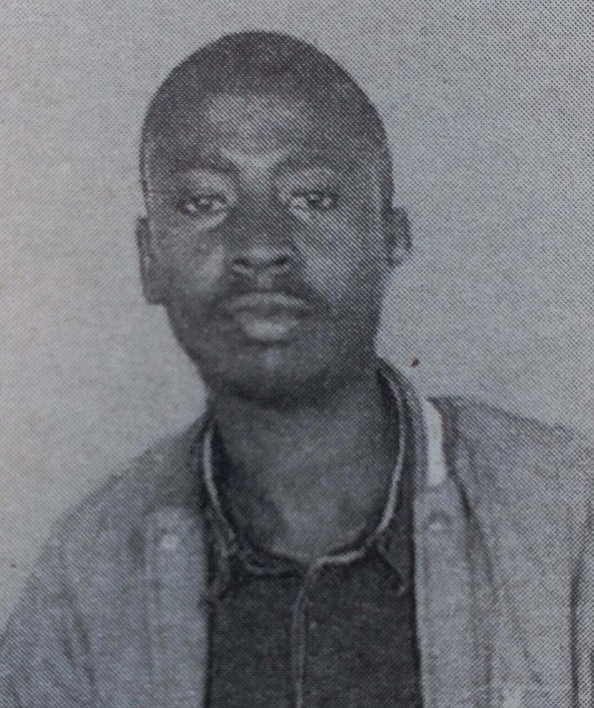 Michael Njora Mwangi (Teacher Michael of Riruta Satellite