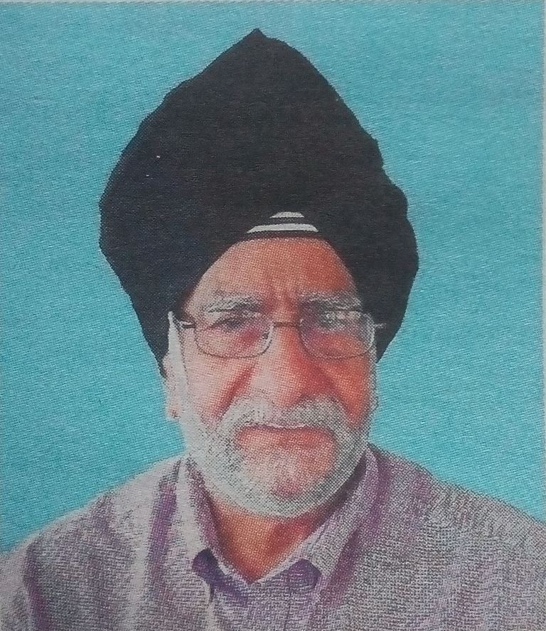 Sardar Mohan Singh Padam (P.D.G) HSC