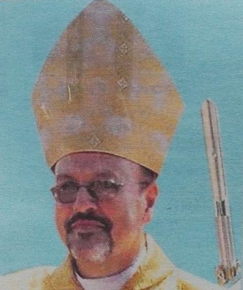 Rt  Rev  Emanuel Barbara OFM Cap - Obituary Kenya