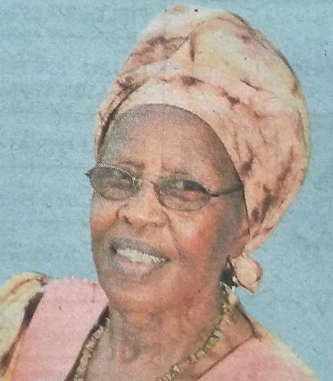 Jane Wambui Maina - Obituary Kenya