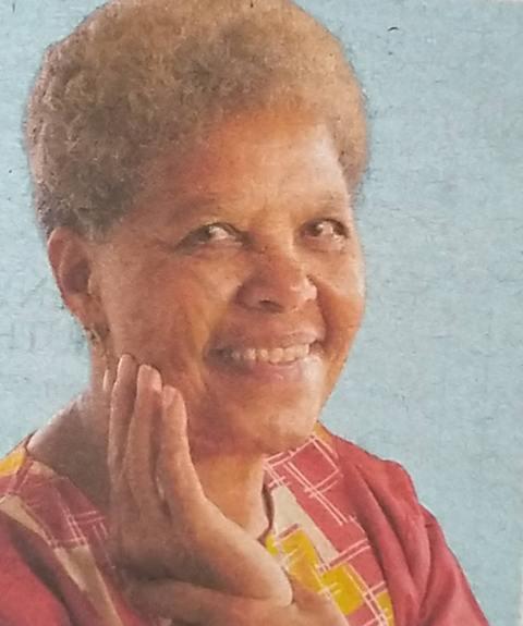Mercy Karimi Omondi - Obituary Kenya