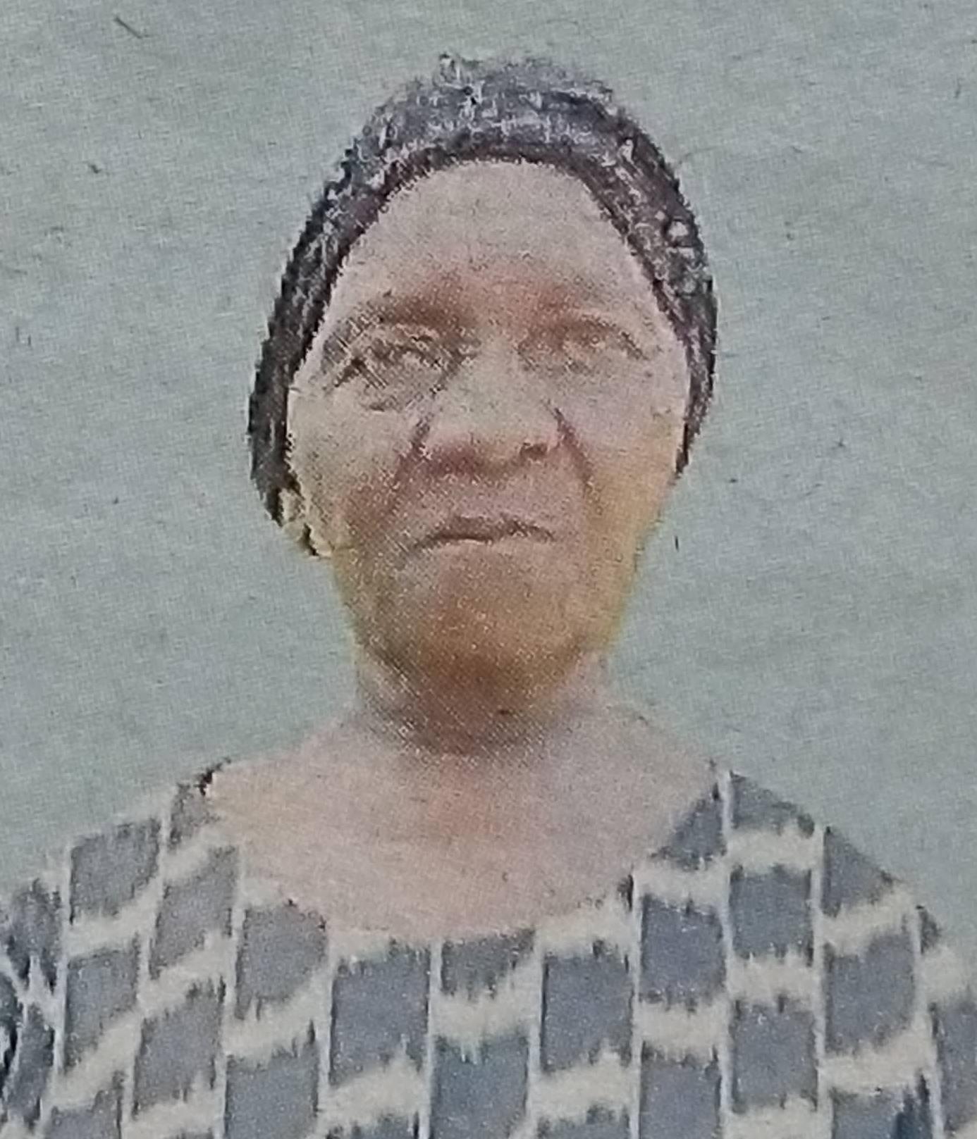 Florence Wambui Njora - Obituary Kenya